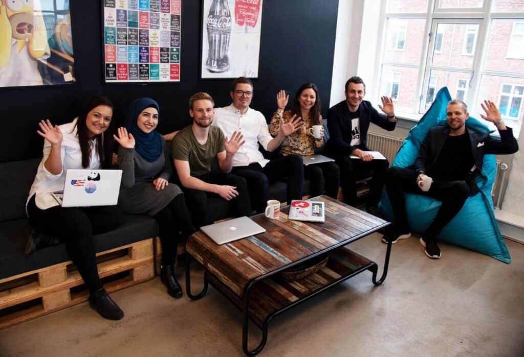 Teamet bakom resOS restaurangsystem