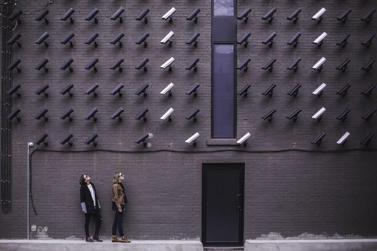 Kamera overvågning af mennesker