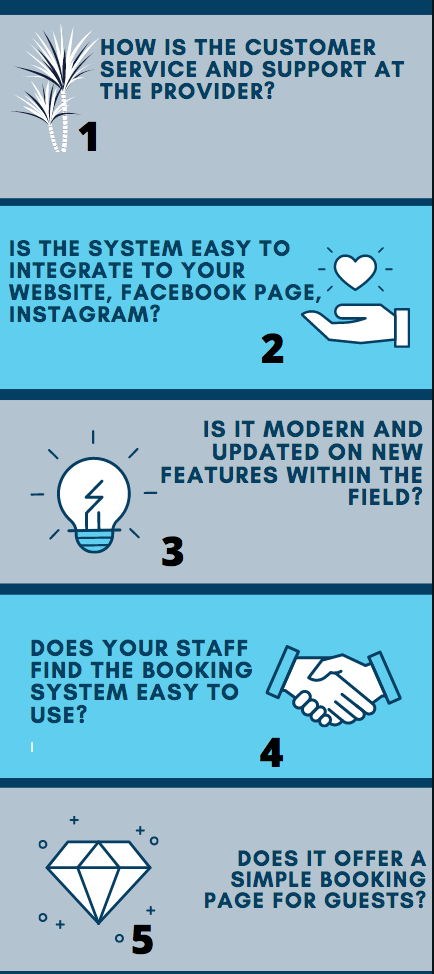 5 things to consider before deciding on a restaurant booking system!