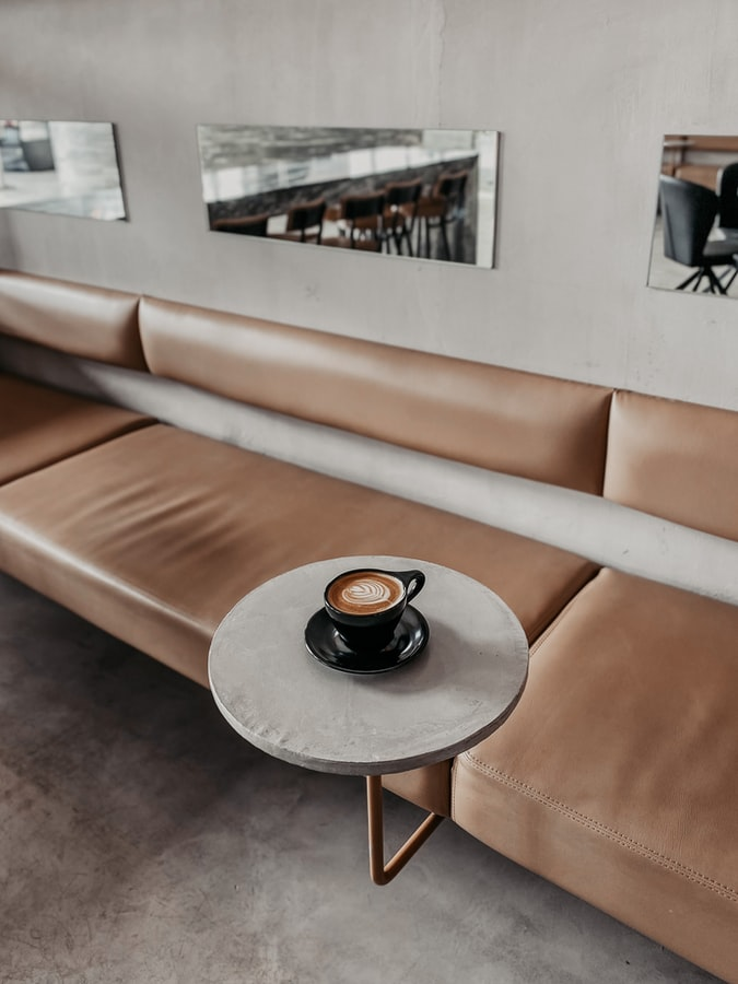 Picture of an empty table from unsplash.com