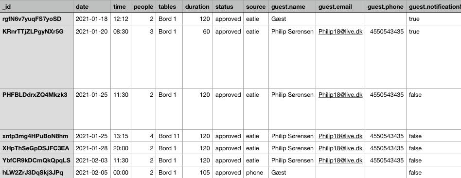 Eksportér din data med resOS