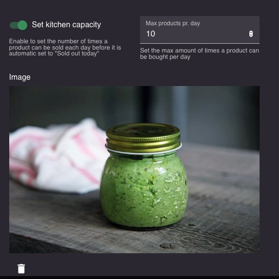 online shop for restaurant products  - pesto