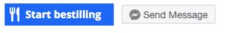 Sådan her din Facebookside ud efter at have tilføjet 'start booking' knappen